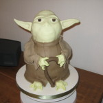Specialised Birthday cake yoda