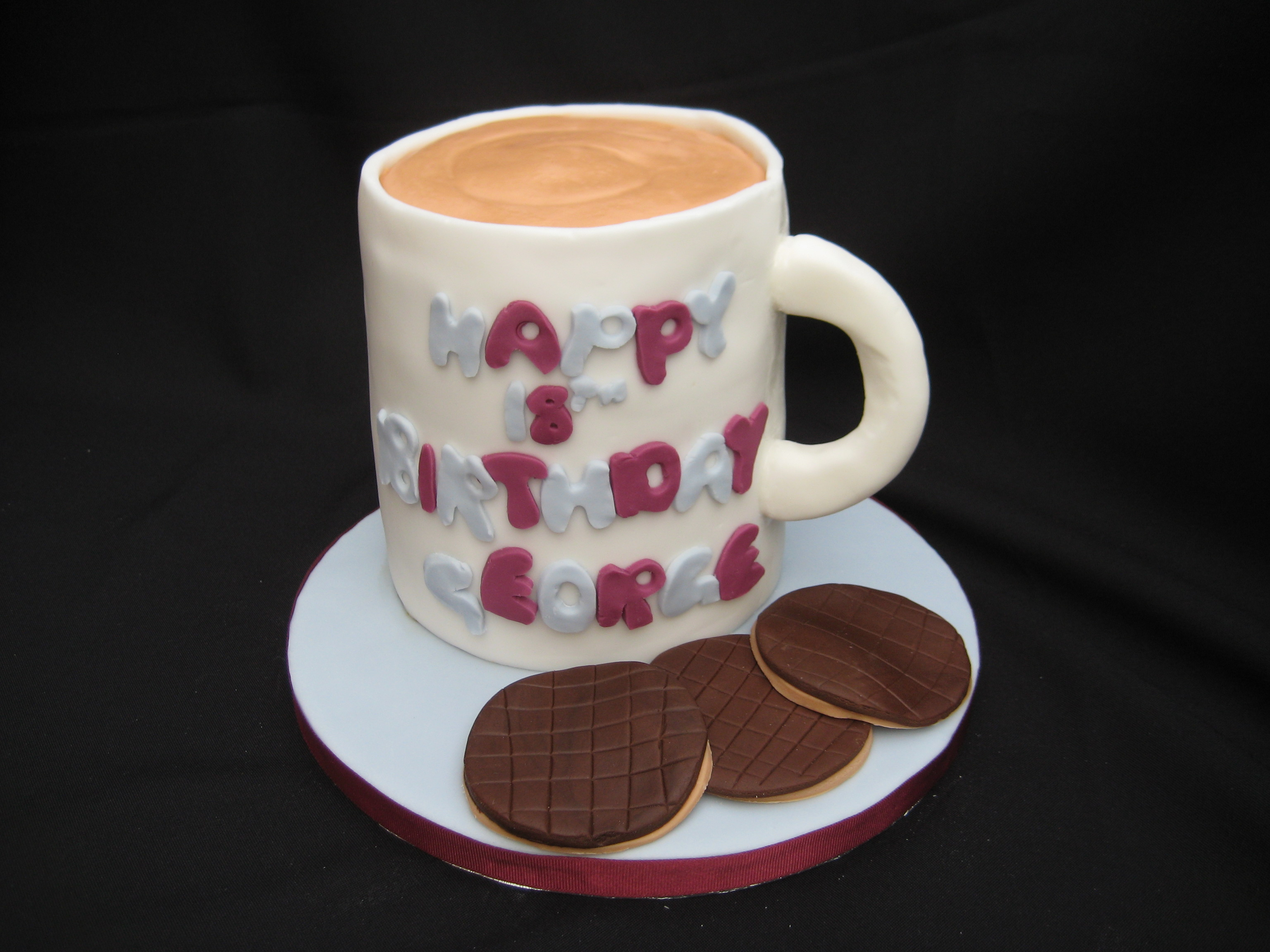 Mug Of Tea Birthday Cake