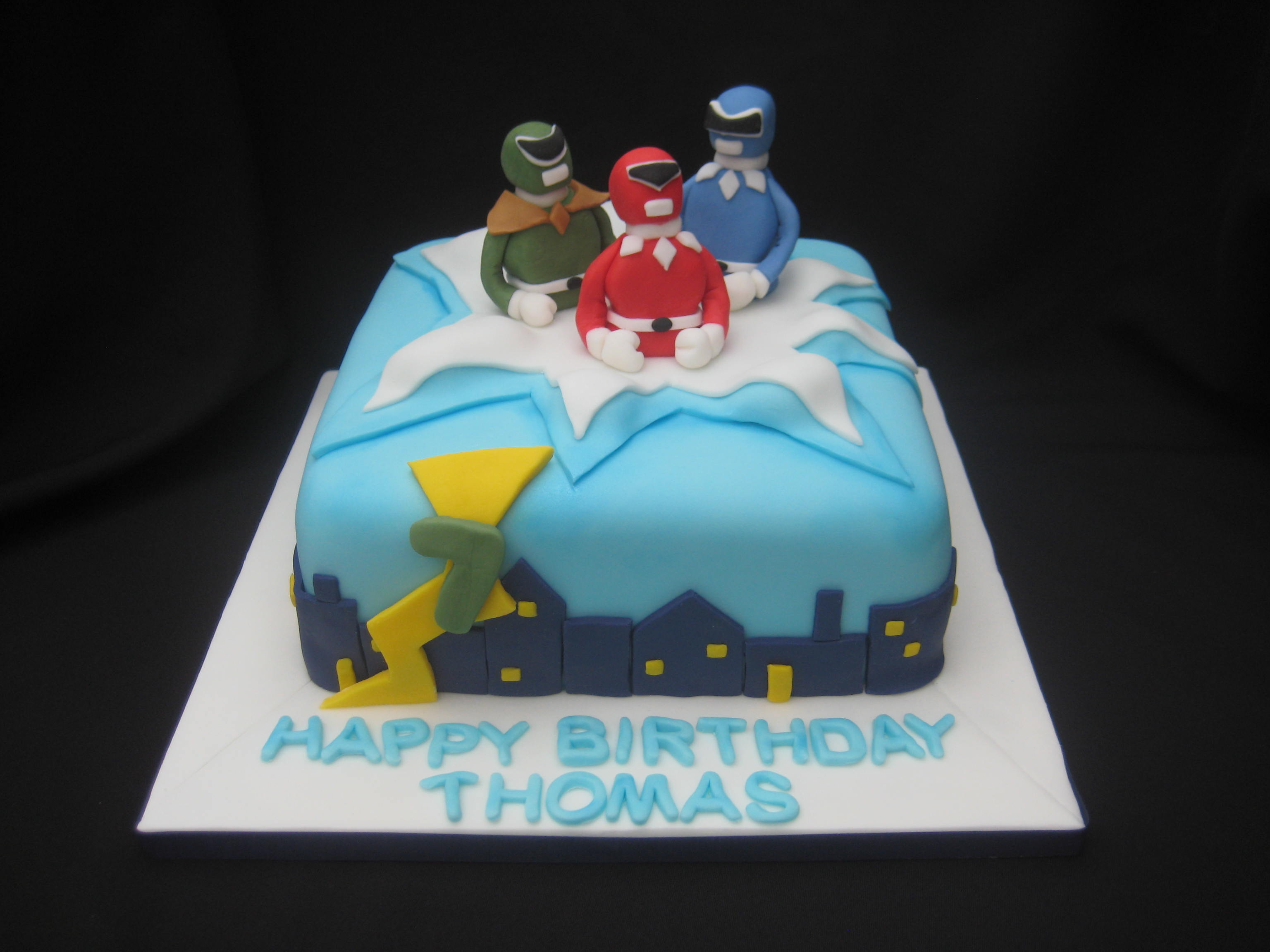 Admirable Power Rangers Birthday Cake Wendy Cakes Funny Birthday Cards Online Inifodamsfinfo